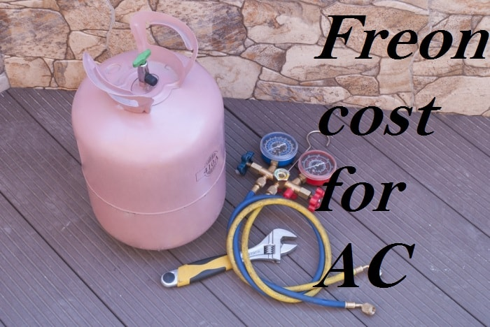 how much is freon for ac unit