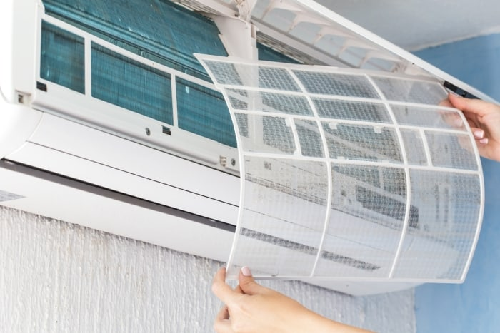 how to change an air conditioning ac filter