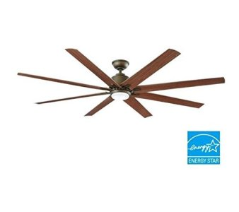 Kensgrove 72 in LED Indoor Outdoor Espresso Bronze Ceiling Fan