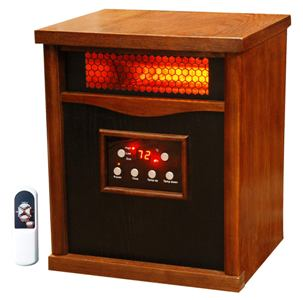 LifeSmart 6 Element Quartz Large Room Infrared Heater