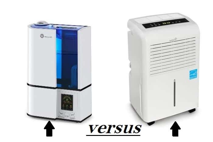 humidifiers vs dehumidifiers