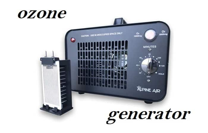 how long to run ozone generator